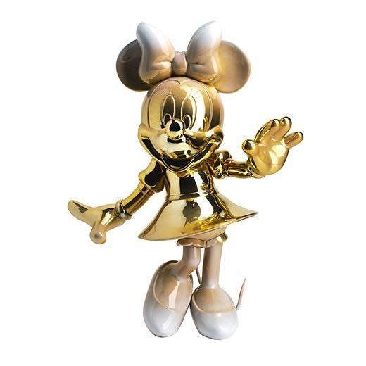 Minnie Welcome Gold & White 31cm-1