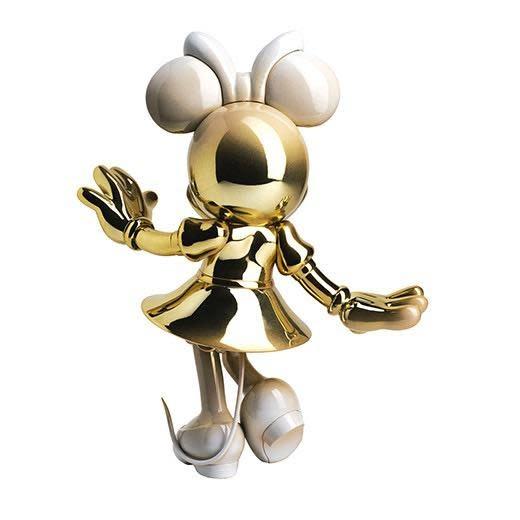 Minnie Welcome Gold & White 31cm-3