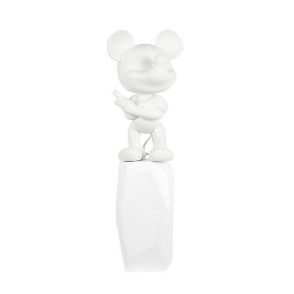 Mickey Rock Arik Levy White 18cm-1