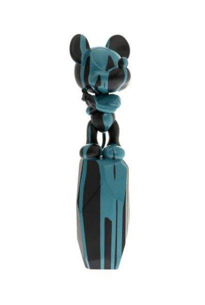Mickey Flow Arik Levy Noir & Turquoise 43cm