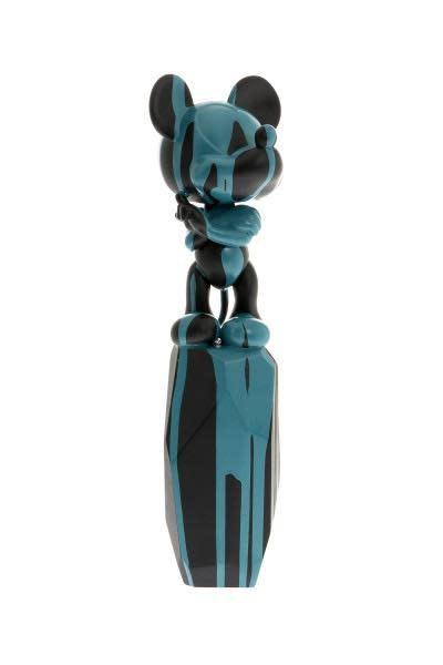 Mickey Flow Arik Levy Black & Turquoise 43cm-1