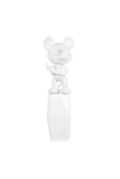 Mickey Rock Arik Levy Blanc 43cm