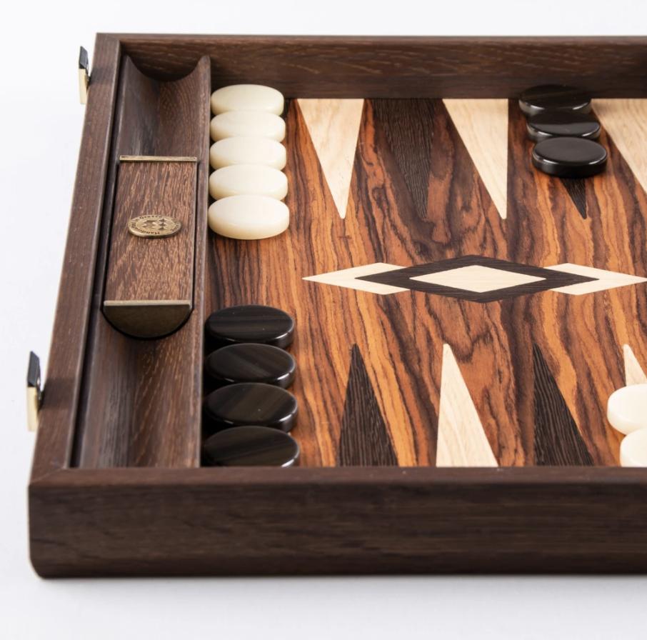 Brown Wood Backgammon Games-4
