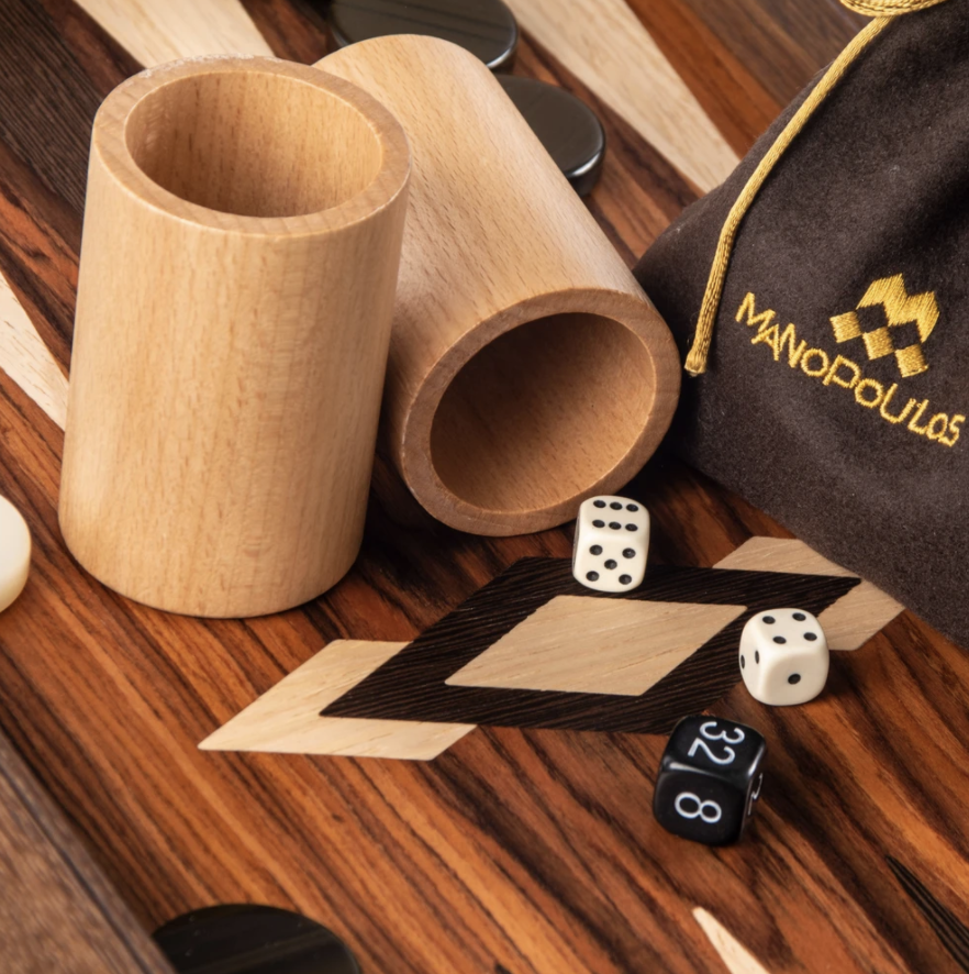 Brown Wood Backgammon Games-7