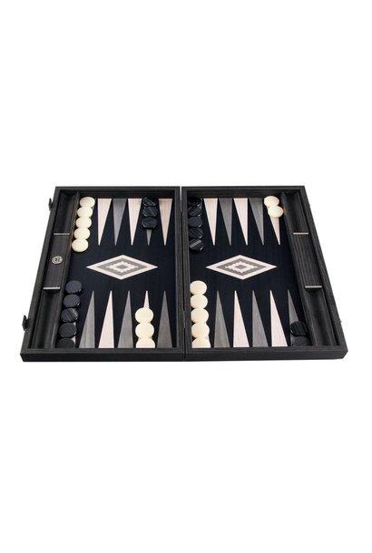 Backgammon game Pearl Gray Small