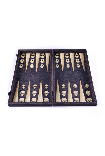 Game Backgammon Skull Design