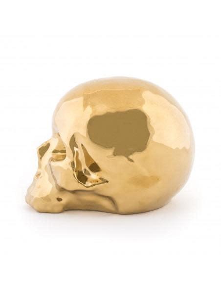 SELETTI - Limited Gold My Skull-3