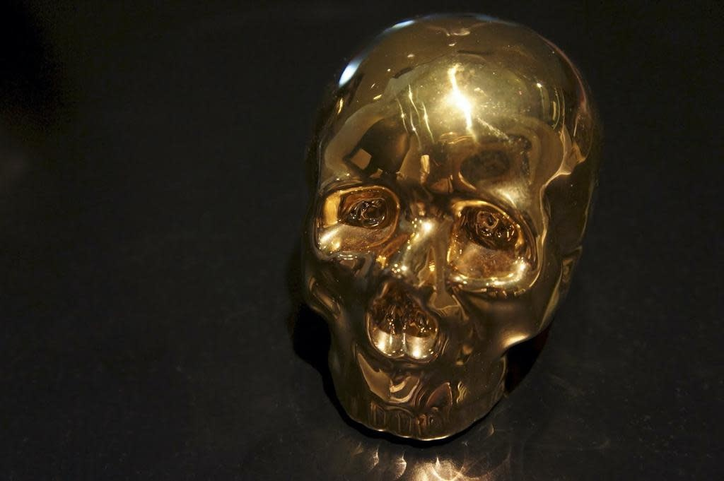 SELETTI - Limited Gold My Skull-4