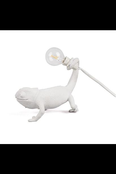 White Chameleon Lamp