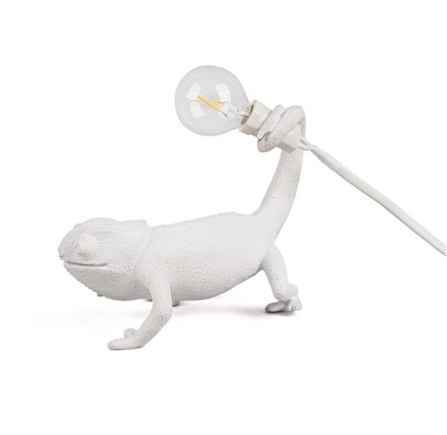 White Chameleon Lamp-1