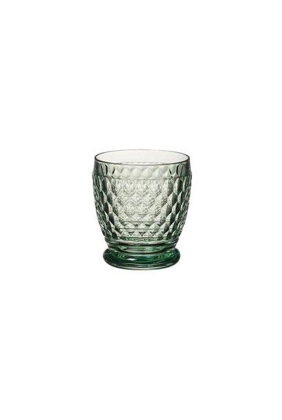 Green Boston Water Glass