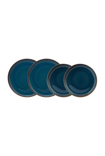Crafted Denim Table Service 6pcs