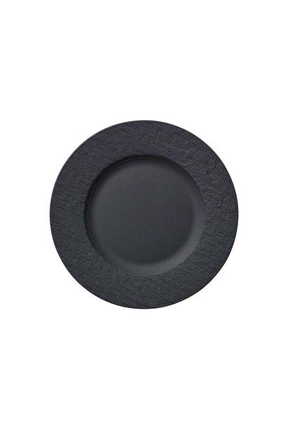 Assiette Dessert Manufacture Rock Noir 22cm
