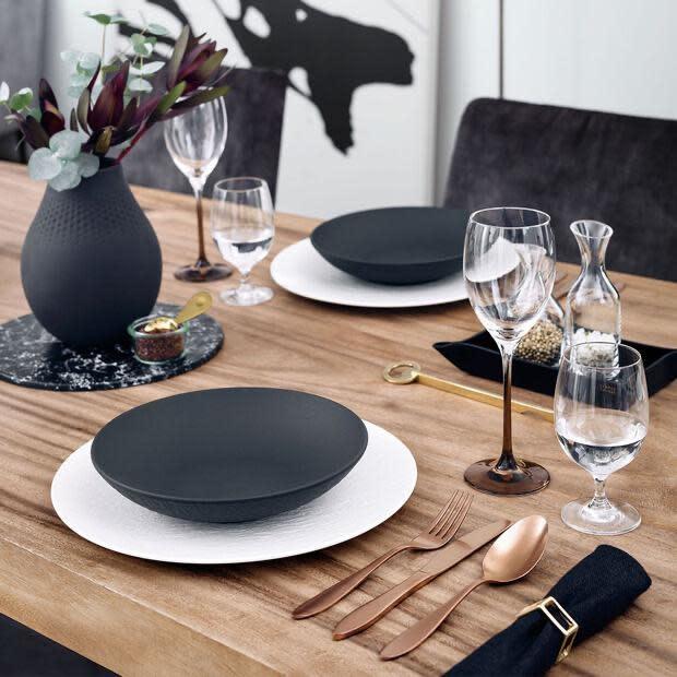 Manufacture Rock Plate Black 24cm-2