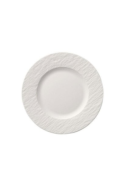 Assiette Dessert Manufacture Rock Blanc 22cm