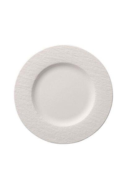 Assiette Plate Manufacture Rock Blanc 27cm