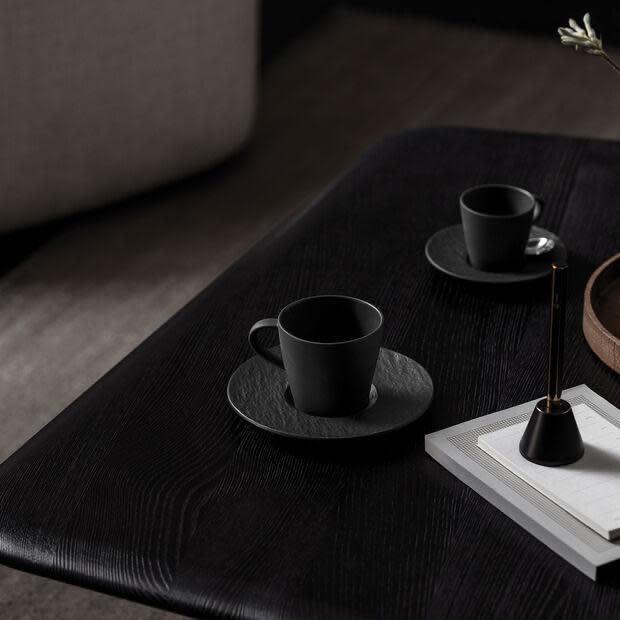 Manufacture Rock Espresso Saucer Black-3