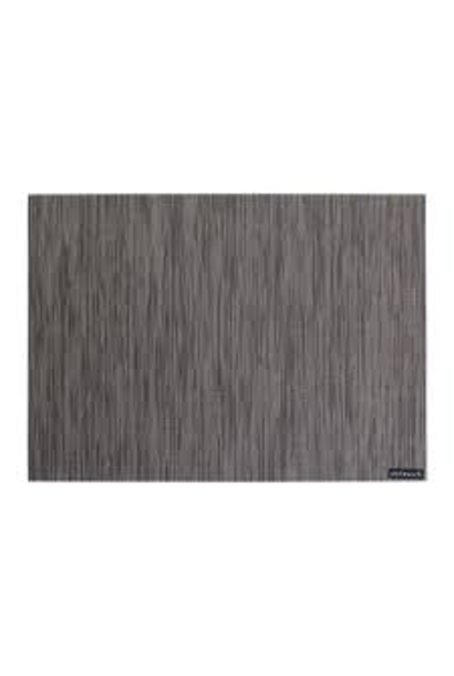 Placemat Bamboo Flanelle Grey 36x48cm