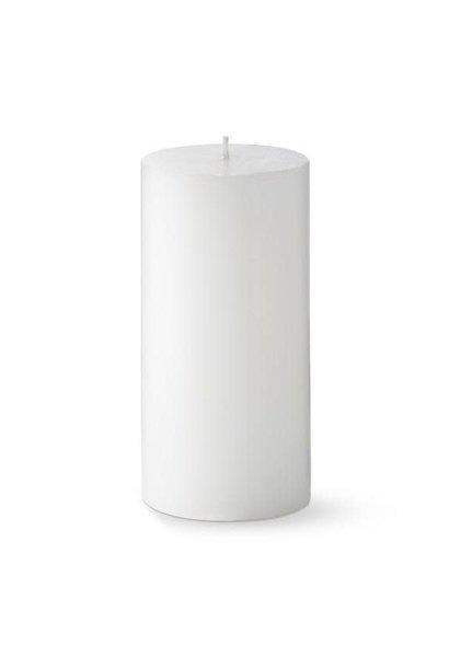 Candle White Pillow D.7 x H.7cm