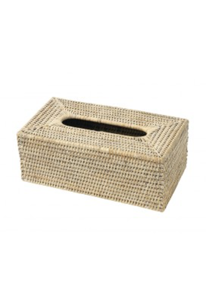 Box Kleenex Rattan 25x14x10cm