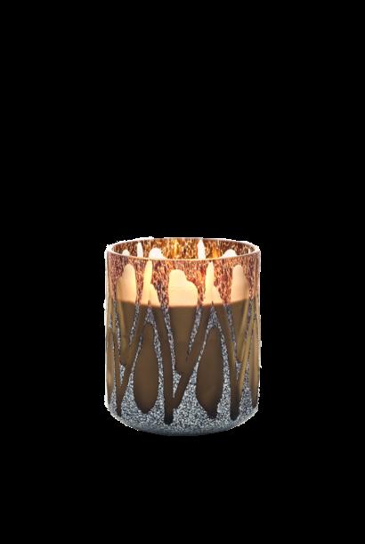 Candle Nature Brown Safari M