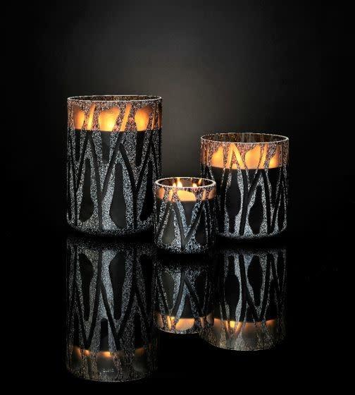 Candle Nature Grey Zanzibar S-3