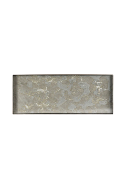 Plateau Fossile Organique Rectangle 46x18cm