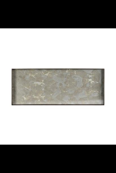 Tray Rectangle Organic Fossil 46x18cm