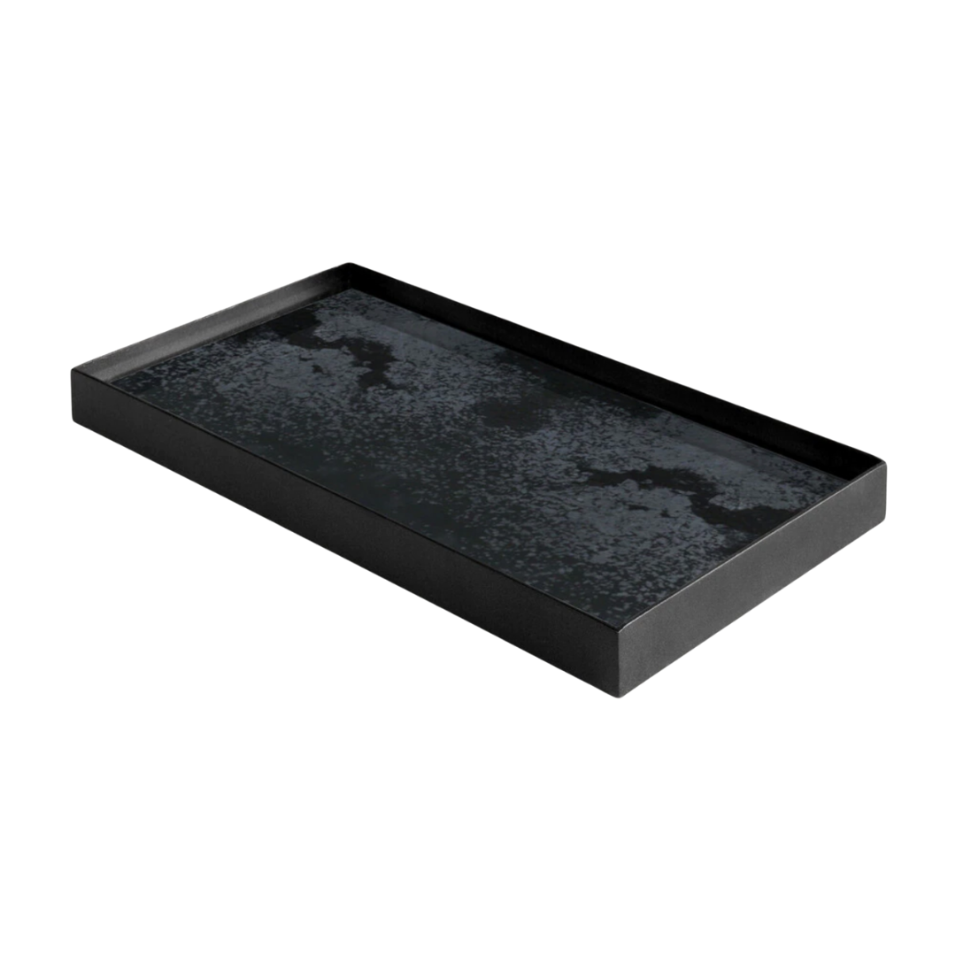 Tray Rectangle Charcoal 31x17cm-2