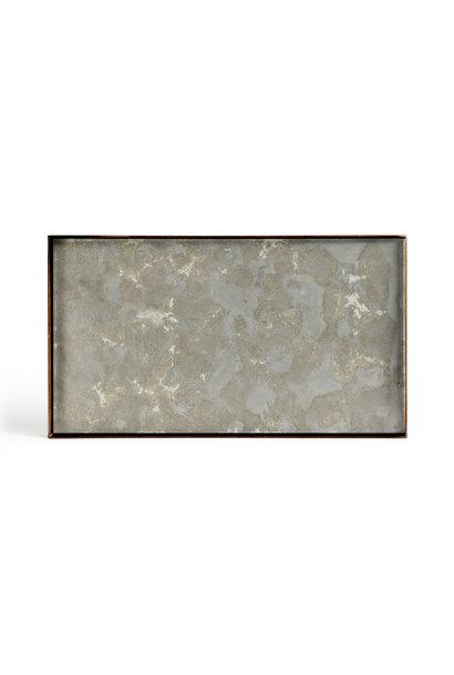 Tray Rectangle Organic Fossil 31x17cm
