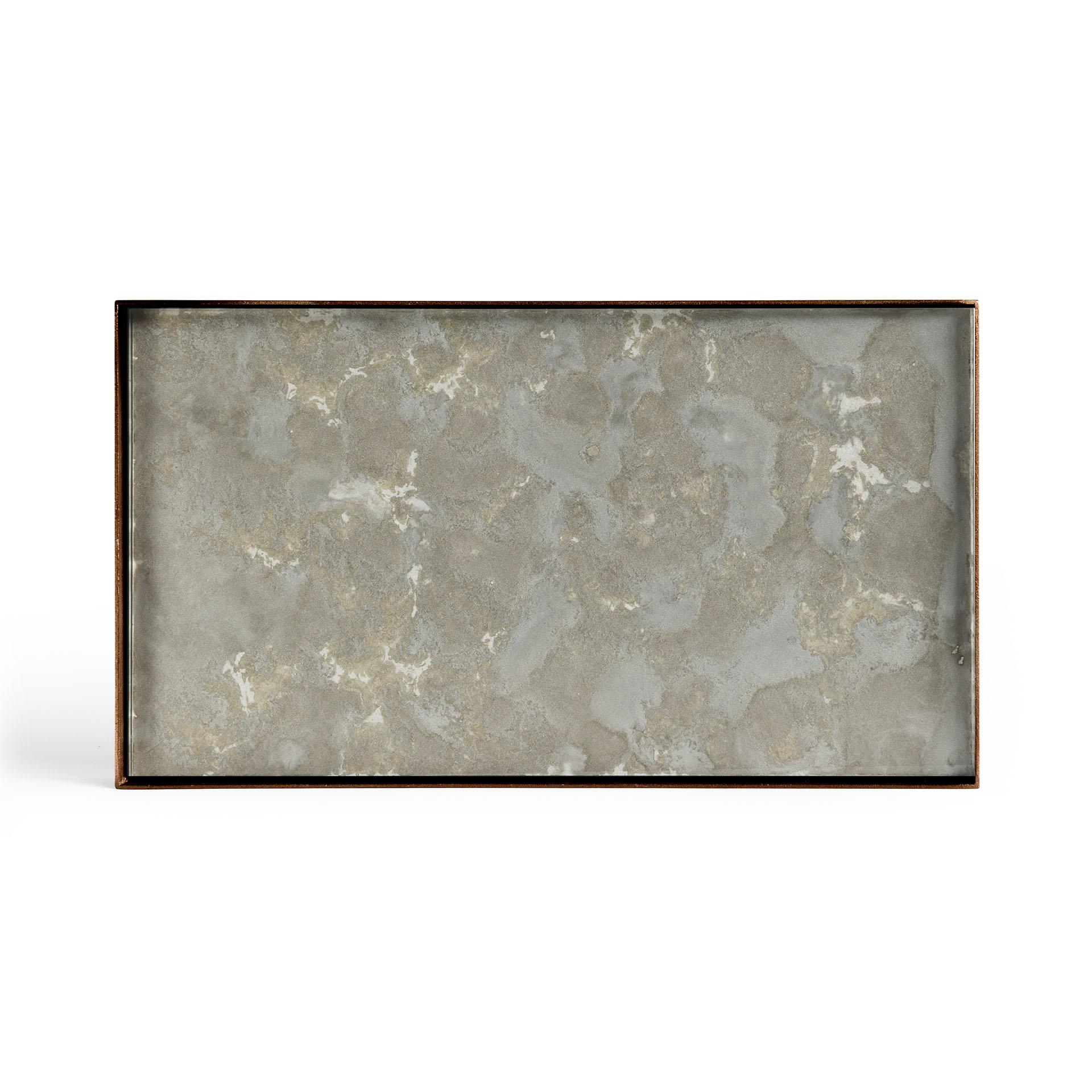 Tray Rectangle Organic Fossil 31x17cm-1
