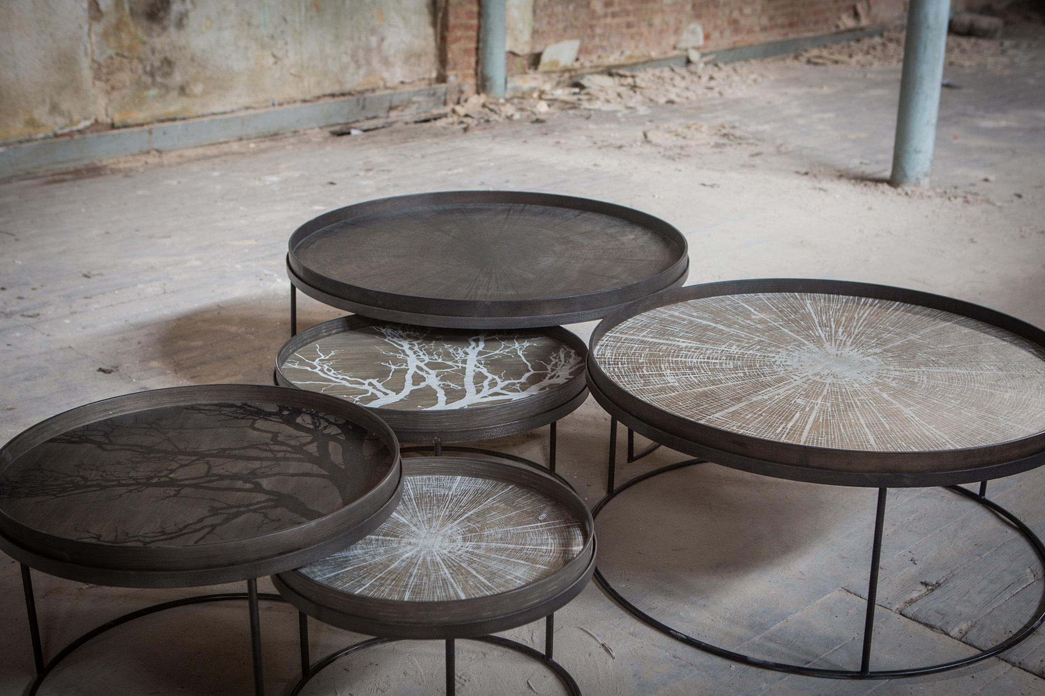 Set Coffee Tables Trays S / L-5