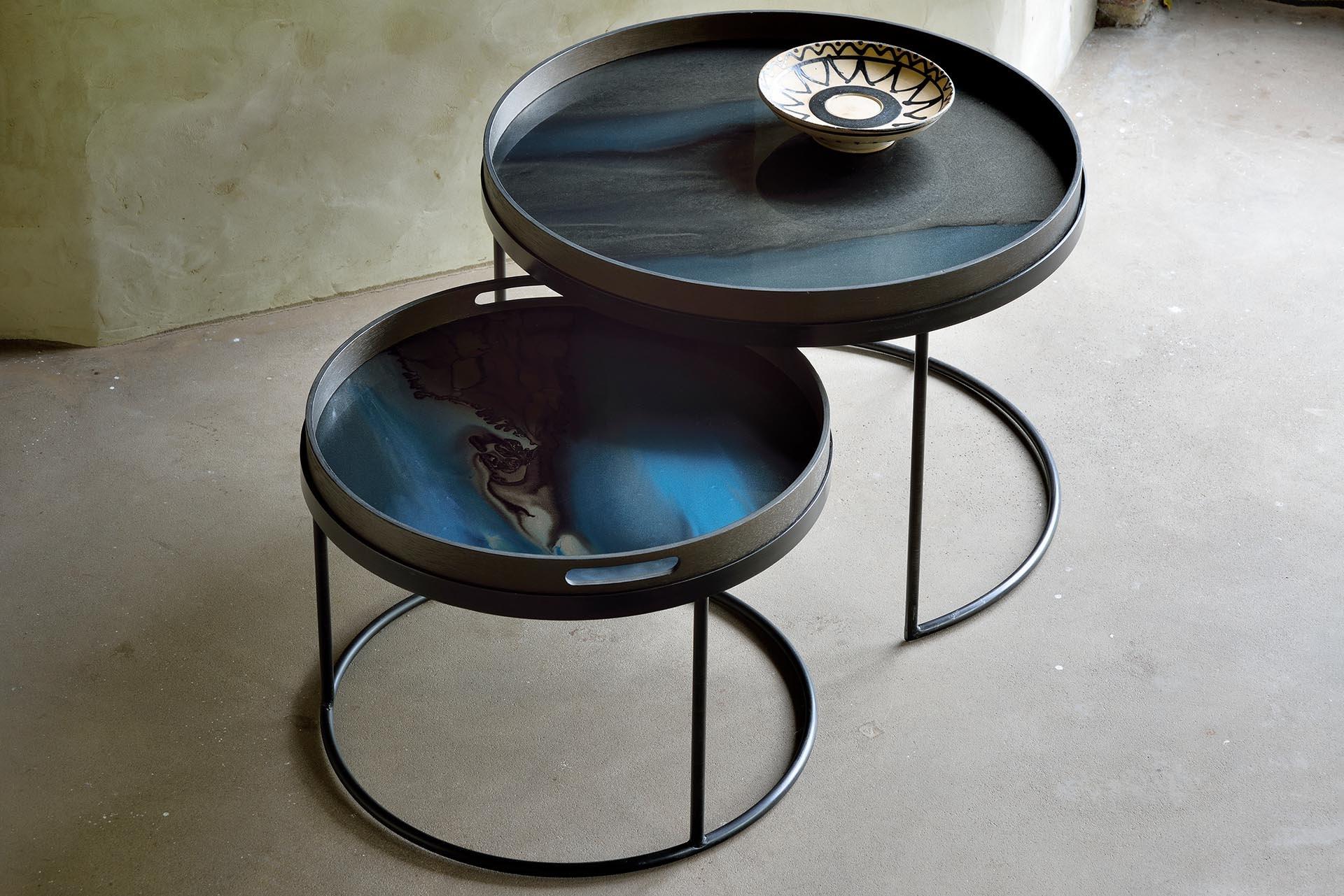 Set Coffee Tables Trays S / L-6