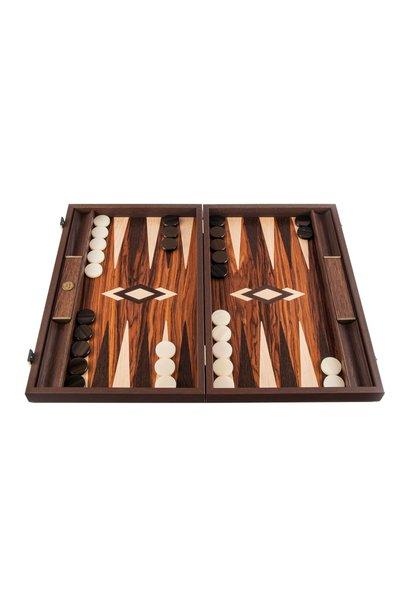 Brown Wood Backgammon Games