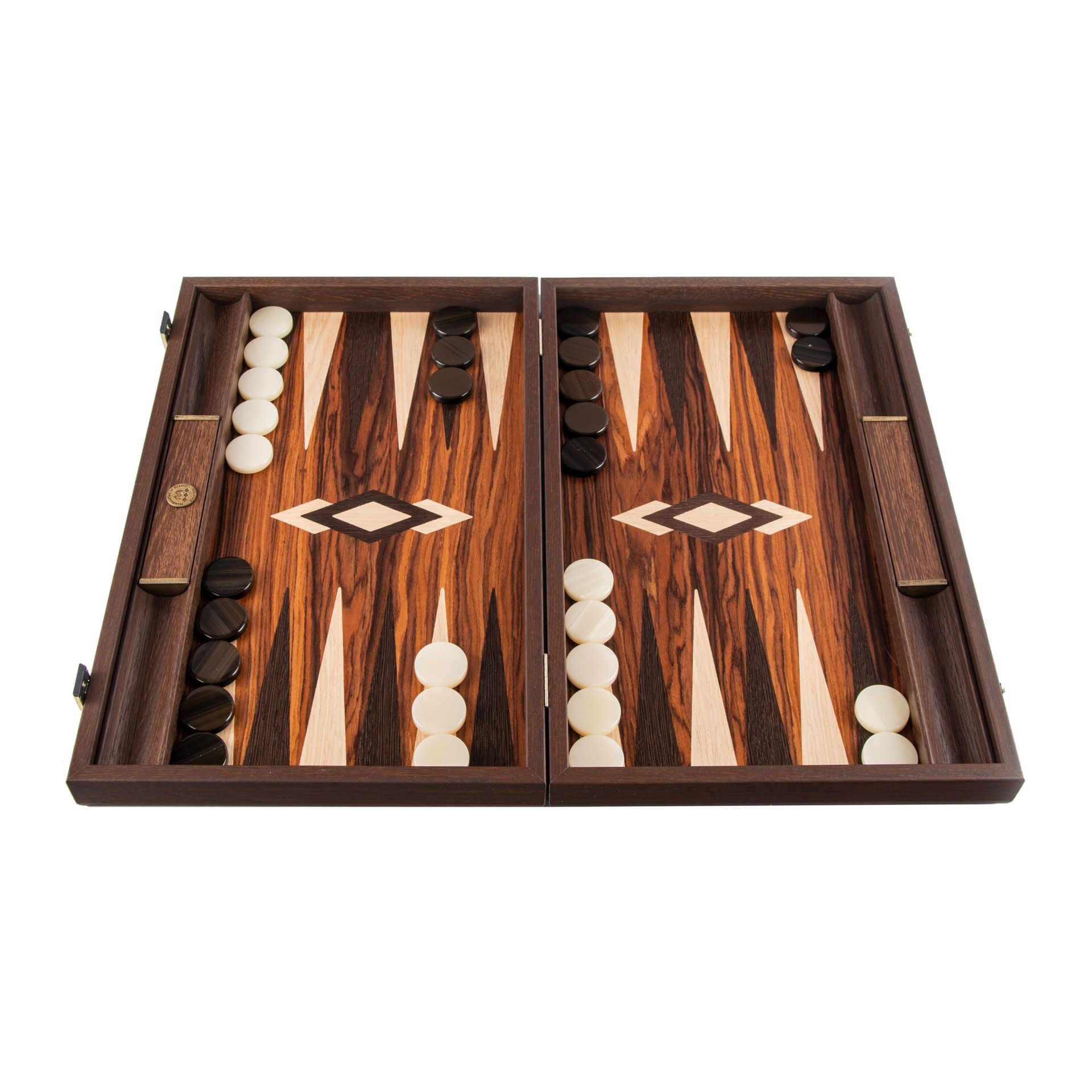 Brown Wood Backgammon Games-1
