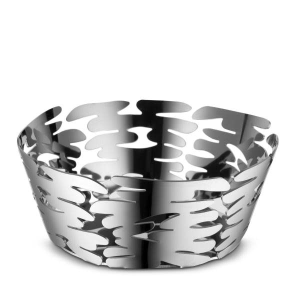 Small Stainless Steel Barket Basket-1