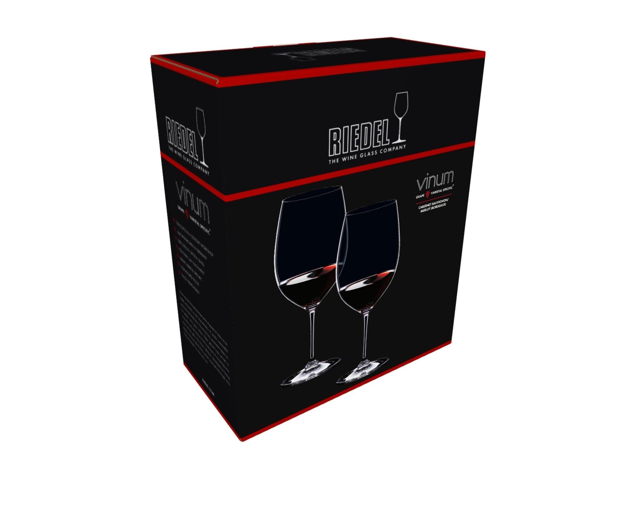 Glasses Vinum Cabernet Sauvignon Merlot  Set 2pcs-6