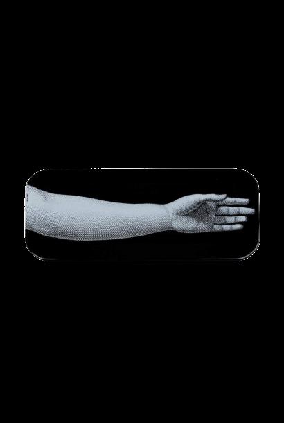 Mano Tray Black & White 25x60cm