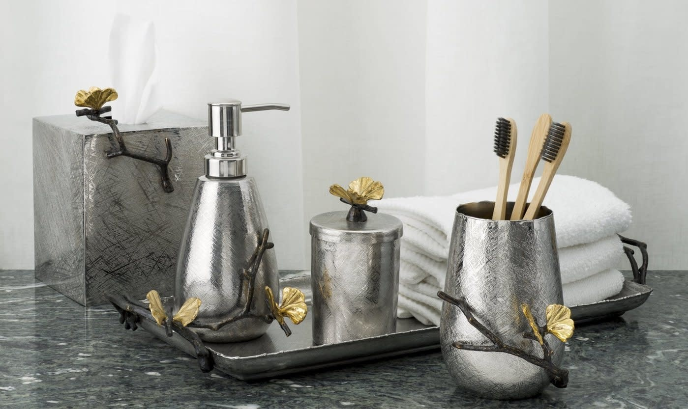 Butterfly Ginkgo Toothbrush Holder-5