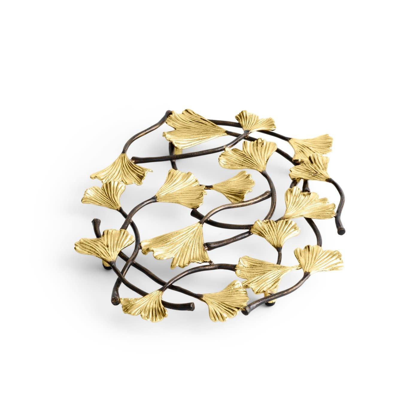 Golden Ginkgo Trivet-1