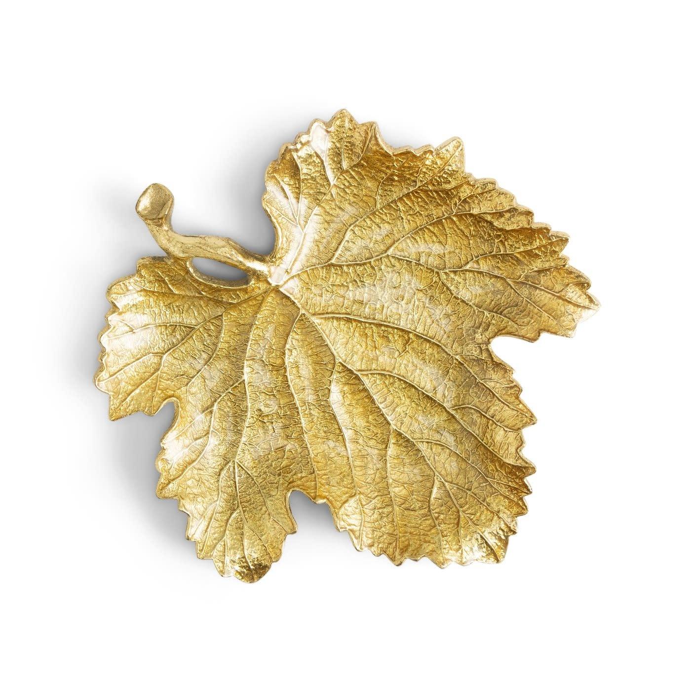 New Leaves Grape Leaf Snack Plate 20cm-1
