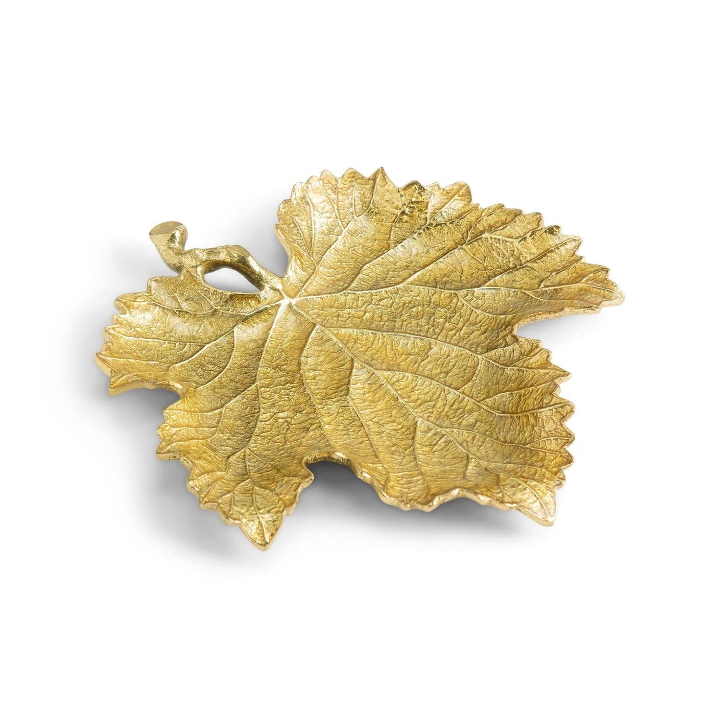 New Leaves Grape Leaf Snack Plate 20cm-3