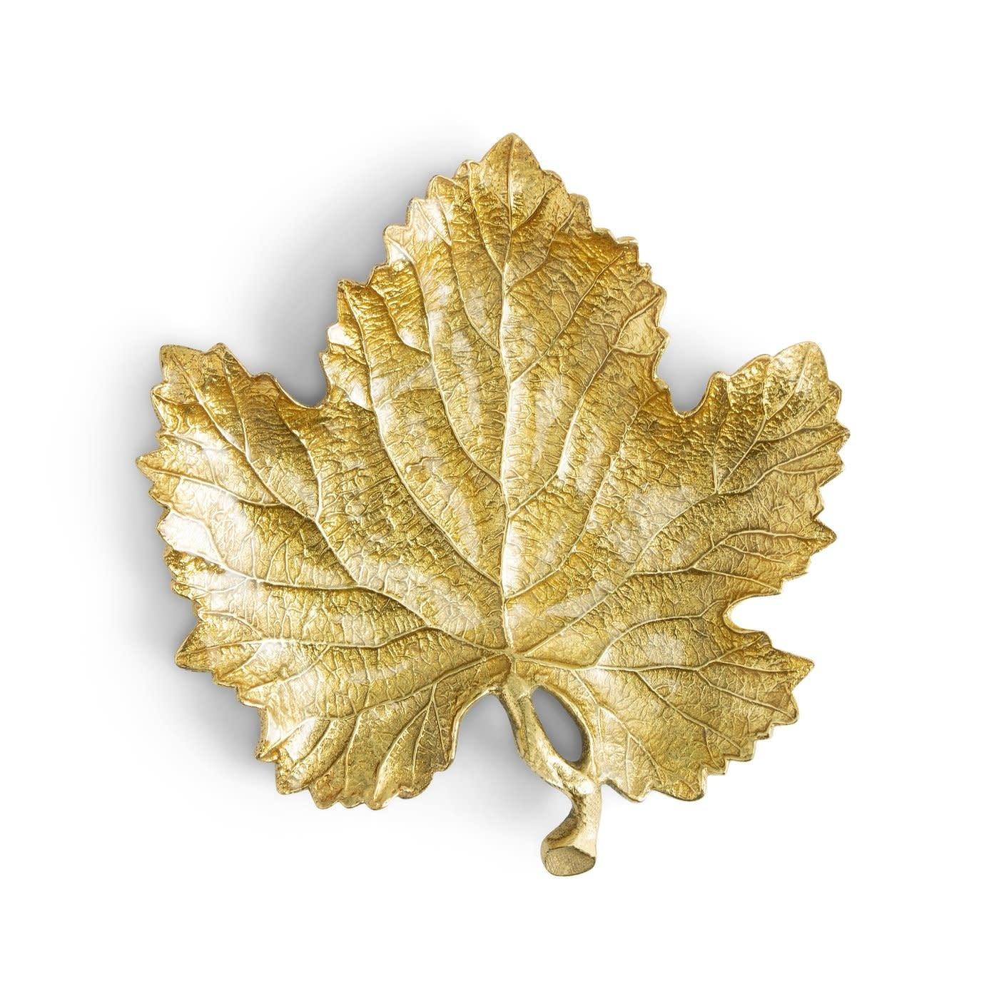 New Leaves Grape Leaf Snack Plate 20cm-4