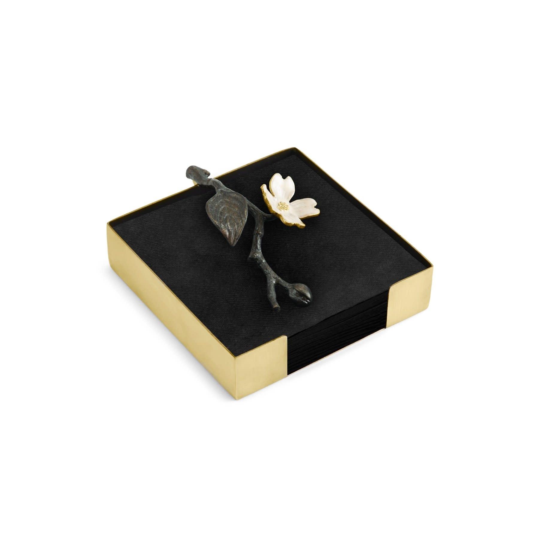 Dogwood Cocktail Napkin Box-4