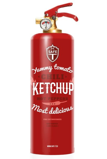 Extincteur Ketchup