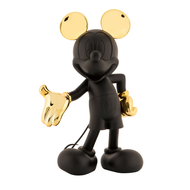Mickey Welcome Bicolor Black & Gold 30cm-1