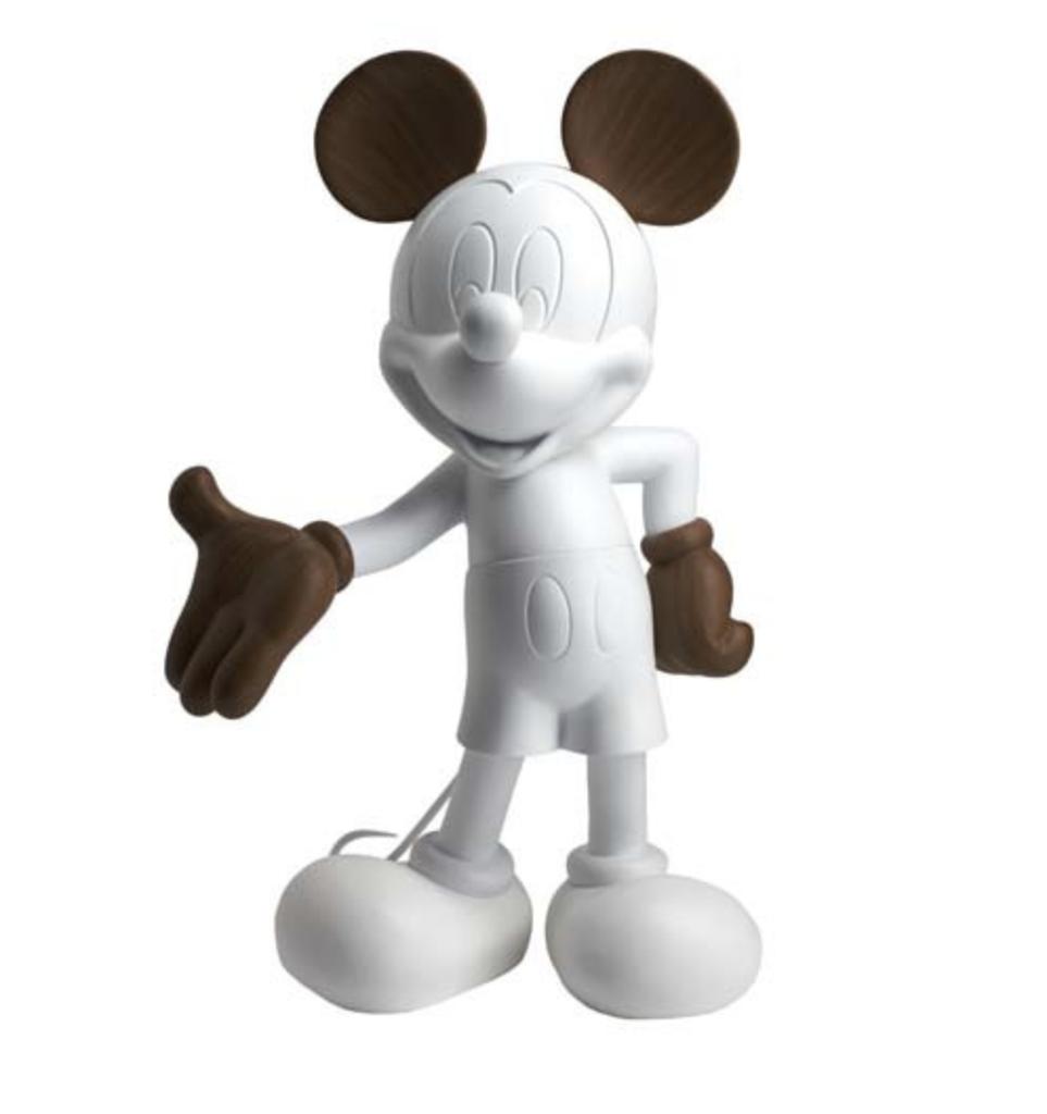 Mickey Welcome Wood 30 cm-1