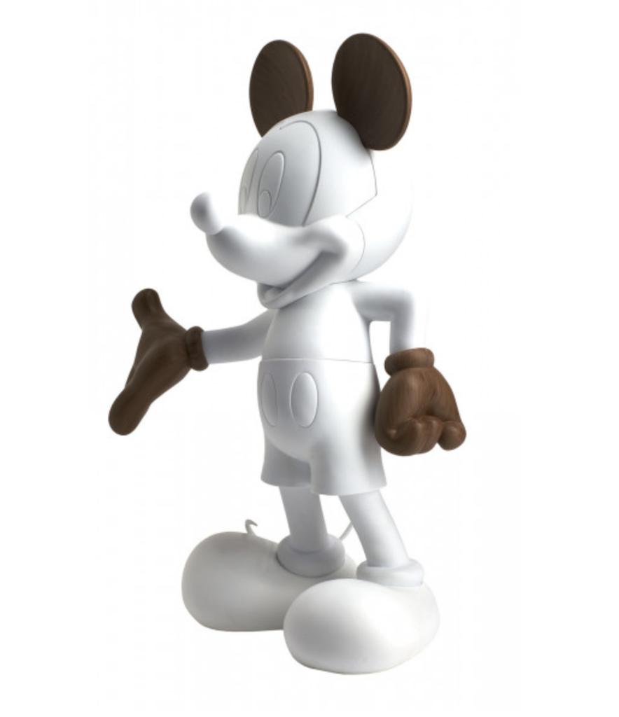 Mickey Welcome Wood 30 cm-2