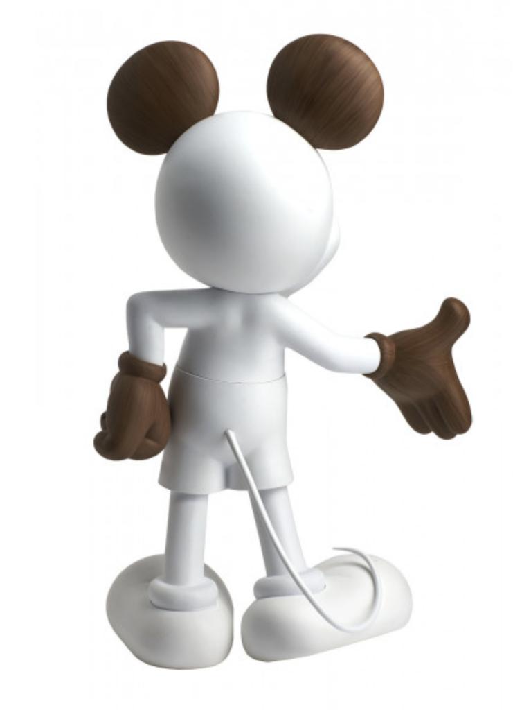 Mickey Welcome Wood 30 cm-3