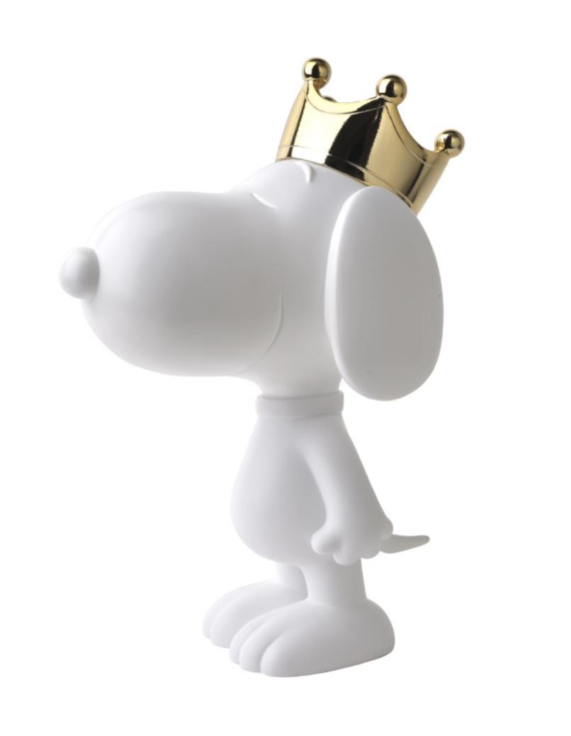 Snoopy crown Chrome Gold & White 31 cm-1